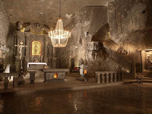Wieliczka Salt Mine very attractive